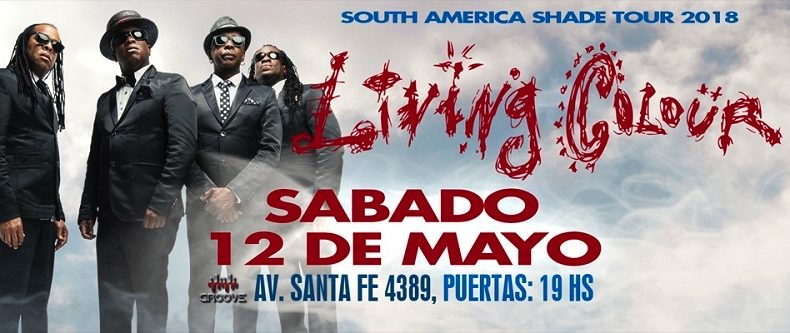 Living Colour en Argentina **Cobertura exclusiva de Mr Jones Live**