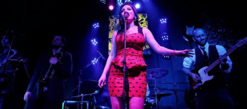 Marilia Campos tributo a Amy Winehouse