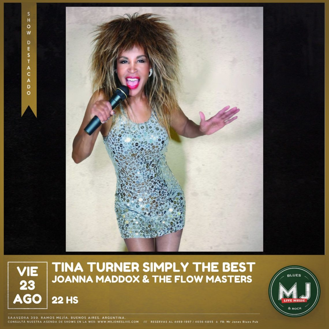 Joanna Maddox – Tina Turner Simply The Best
