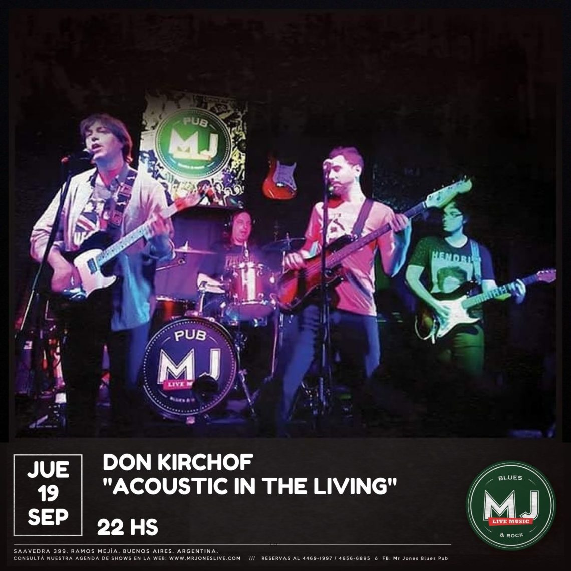 Don Kirchof  «Acoustic in the living»