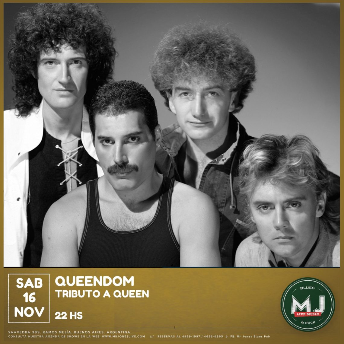 Queendom  tributo a Queen