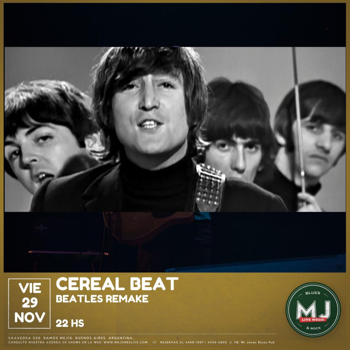 CEREAL BEAT [BEATLES REMAKE]